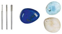 镀金刚石雕磨头 tools NO28230(图1)